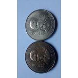 Moneda De 1000 Pesos Sor Juana Bronce Nuevas 1989 Y 1990
