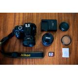 Camara Nikon D3400 Con Accesorios