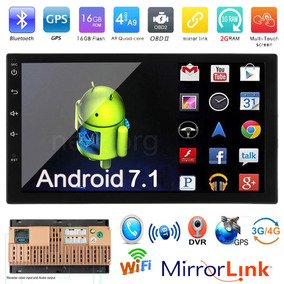 Autoestereo 7 Cuatro Nucleos Android 7.1, Wi-fi, Bt, Gps