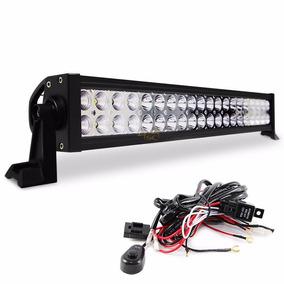 Barra De Led 120 Watt P Iluminação Luz Automotiva Caminhão