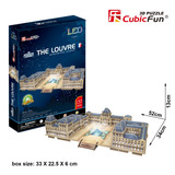 Cubic Fun - The Louvre Led