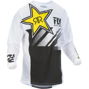 Jersey Mx Todoterreno Fly Racing Kinetic Rockstar Malla Lg 325bfc9282e