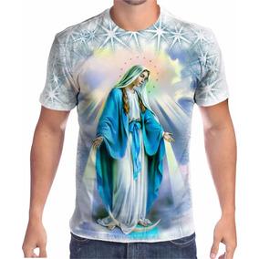Camisa Camiseta Nossa Senhora Das Graças Religiosa