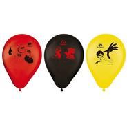 Balão De Látex Impresso 9 Polegadas Os Incríveis 2