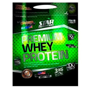 Star Nutrition Premium Whey Protein 3kg - Proteina De Suero