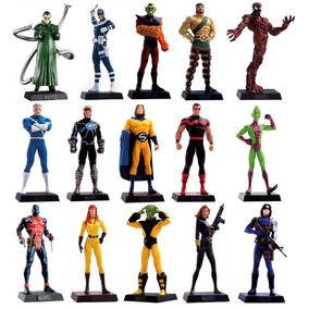 Super Pack Marvel - Lote Com 15 Miniaturas Eaglemoss