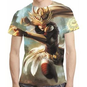 Camisa League Of Legends Camiseta Syndra Justiceira