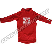 Remera Niño Uv Lycra Manga Larga Body Glove