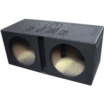 ¡nuevo! Q-power Qbomb12v Doble 12 Con Ventilación Sub Cuadr