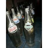 Antiguas Botellas Pepsi 9 Y 3 Mirinda.