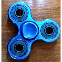 Fidget Hand Spinner Aluminio 5 Colores Disponibles + Envio