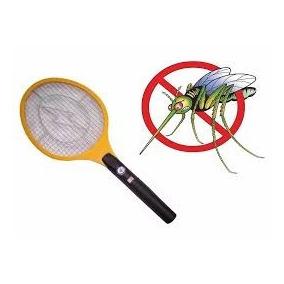 Raquete Recarregável Mata Mosca Mosquito Dengue Pernilongo