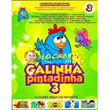 Galinha Pintadinha - Coleção 3 Dvds Infantil