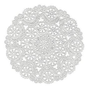 Royal Medallion Lace Round Paper Doilies 10-inch Pack Of 12
