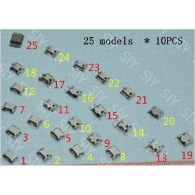30 Pcs Centro De Carga V8 Varios Modelos Tablets Celulares*