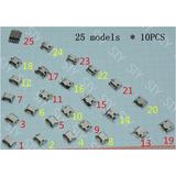 30 Pcs Centro De Carga V8 Varios Modelos Tablets Celulares