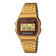 Reloj Casio A159wgea-5df Digital Dorado
