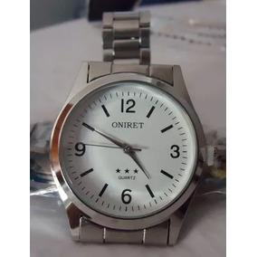 003fa3bd7b7 Relógio Teachear Scuba Branco Pulseira Em Aço Série Prata - Relógios ...