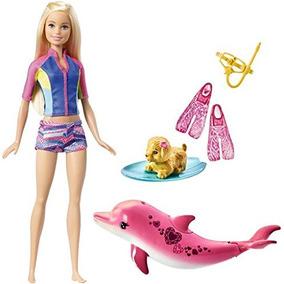 Boneca Barbie Filme Barbie E Os Golfinhos Mágicos - Mergulha