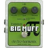 Pedal Electro Harmonix Bass Big Muff Nuevo
