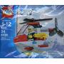 Lego City 4900 Helicoptero - Polybag