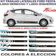 Franjas Laterales Para Autos Ford Fiesta - Graficastuning