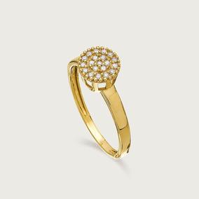 d02b9a4f6f375 Anel Ouro 18k Feminino Com Diamante - Joias e Bijuterias no Mercado ...