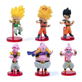 Kit Com 6 Figuras Dragon Ball Z