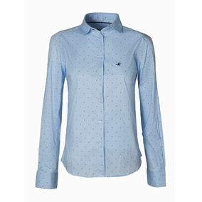 Camisa Mujer Brooksfield Moda Algodón Elegante Bm03094z