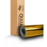 Vvivid Espejo De Oro Cromo Winyl Car Wrap Self-adhesive Air