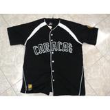 Franela Camisa De Beisbol De Leones Del Caracas Xl