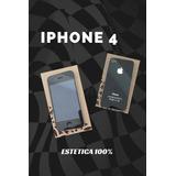 Iphone 4, Compañia Telcel, Entrego Con Caja Y Case.