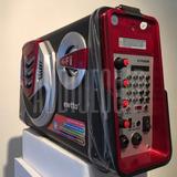 Parlante Portatil Bluetooth Usb,sd, Valija,eq,grabador