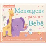 Album Do Bebê: Mensagens Para O Bebê - Capa Almofadada