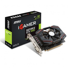 Placa De Vídeo Msi Geforce Gtx 1060 Igamer 6gb Pci-express