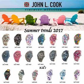 Reloj John L Cook Silicona 20 Motivos Tienda Oficial