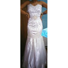 Vestido De Noiva Sereia Renda Francesa/tomara Q Caia Barato