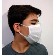 Máscara Descartável Tnt Tripla Protecao 50 Unidades