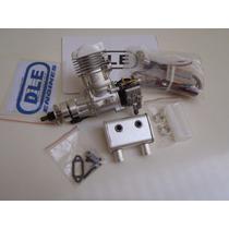 Motor Dle 20cc Ra Gasolina Frete Grátis 12x Sem Juros (0087)