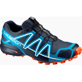 Zapatilla Masculina Salomon-speedcross 4 Gtx M Azul