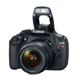 Camara Digital Profesional Reflex Canon T5 Rebel 18-55mm Fhd
