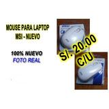 2 Mouse Msi Para Laptop Nuevos