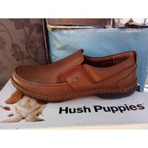 Zapato Marca Hush Puppies 100% Cuero Color Café N° 41 Y 42.