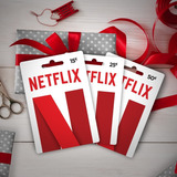 Tarjeta Regalo Gift Card Netflix 1 Mes
