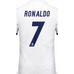 505dde7a40442 Jersey Real Madrid Manga Larga Ronaldo 7 Local 2013 2014 en Mercado ...