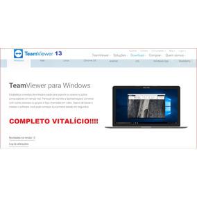 Team Viewer * Acesso Remoto * Vitalício * Conexão * Temview