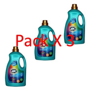 Pack 3 X Detergente Líquido Abc Para Ropa Blanca Y Color