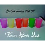 Vasos Shots De Plástico 2 Onz Paquete De 40 Unid