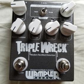 Wampler Triple Wreck Zerado