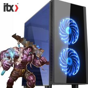 Pc Itx Gamer Ryzen 5 1600x (geforce Gtx 1060 3gb) / Water